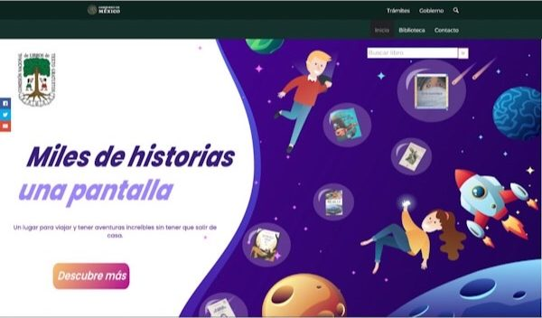 Biblioteca digital Miles de Historias, una opción para fortalecer el hábito de la lectura: IEEPO