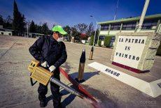 Sanitizan instalaciones de la 28va. Zona Militar de la Sedena
