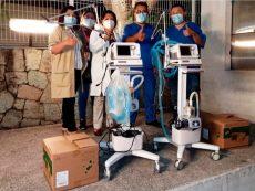 Entrega gobierno de Oaxaca ventiladores a hospitales; ya se cuenta con 500 en la entidad