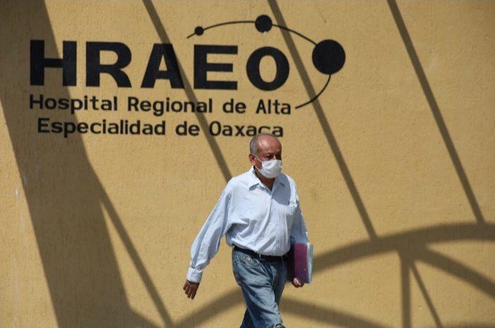 Solicitan declaración de cuarentena en el Hospital Regional de Alta Especialidad de Oaxaca