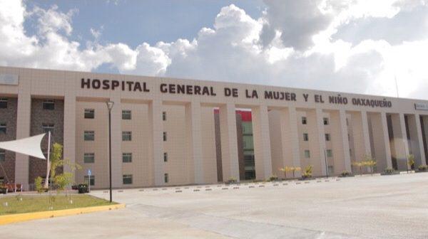 Hospital General de la mujer y el niño oaxaqueño