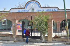 Limpia y desinfectan zonas aledañas a Relleno Sanitario de Oaxaca de Juárez