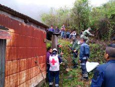 Reconoce Murat atención de la Cruz Roja a habitantes de los Ozolotepec