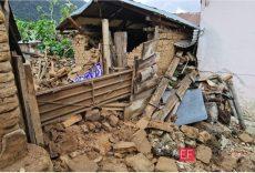 Sismo de 7.4 dejó severos daños en viviendas de San Juan Ozolotepec