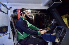 La Secretaría de Movilidad informó que las medidas sanitarias en el transporte público continúan vigentes.