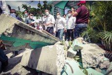 Sube a 10 la cifra de muertos por el sismo en Oaxaca; ajustan magnitud a 7.4