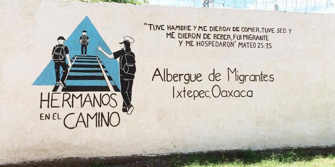 Reportan posible brote de Covid-19 en albergue migrante de Ixtepec