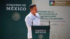 Renovación del Ferrocarril Interoceánico, un paso importante hacia el progreso y prosperidad del Sureste de México: AMH