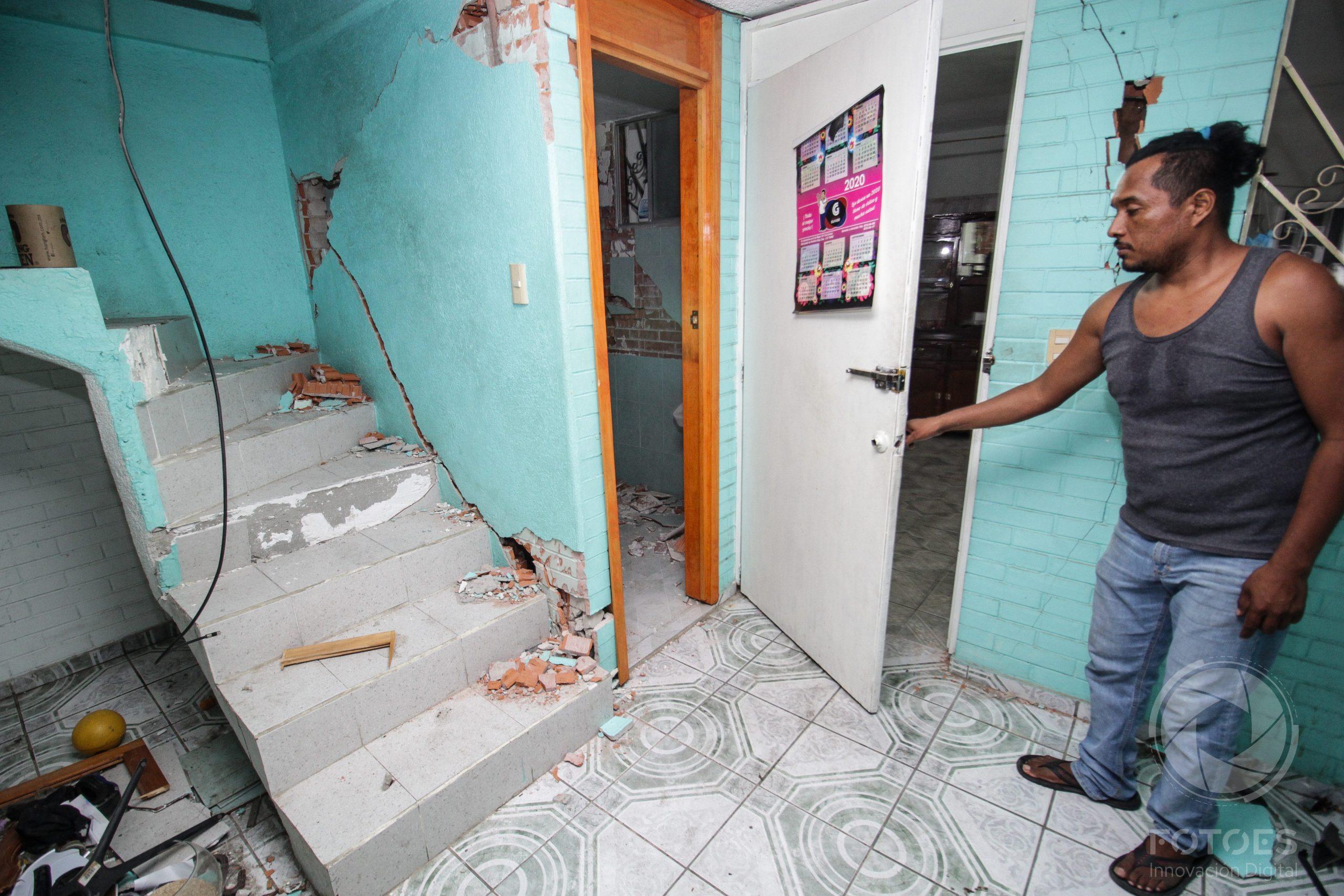 6 muertos dejó el sismo de 7.5 en Oaxaca
