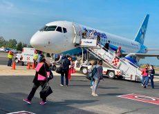 Fortalecen protocolos sanitarios en el aeropuerto de Oaxaca
