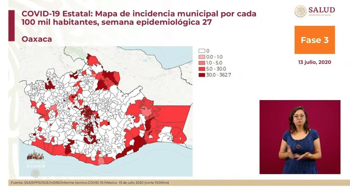 En México 35 mil 491 personas han fallecido por COVID-19