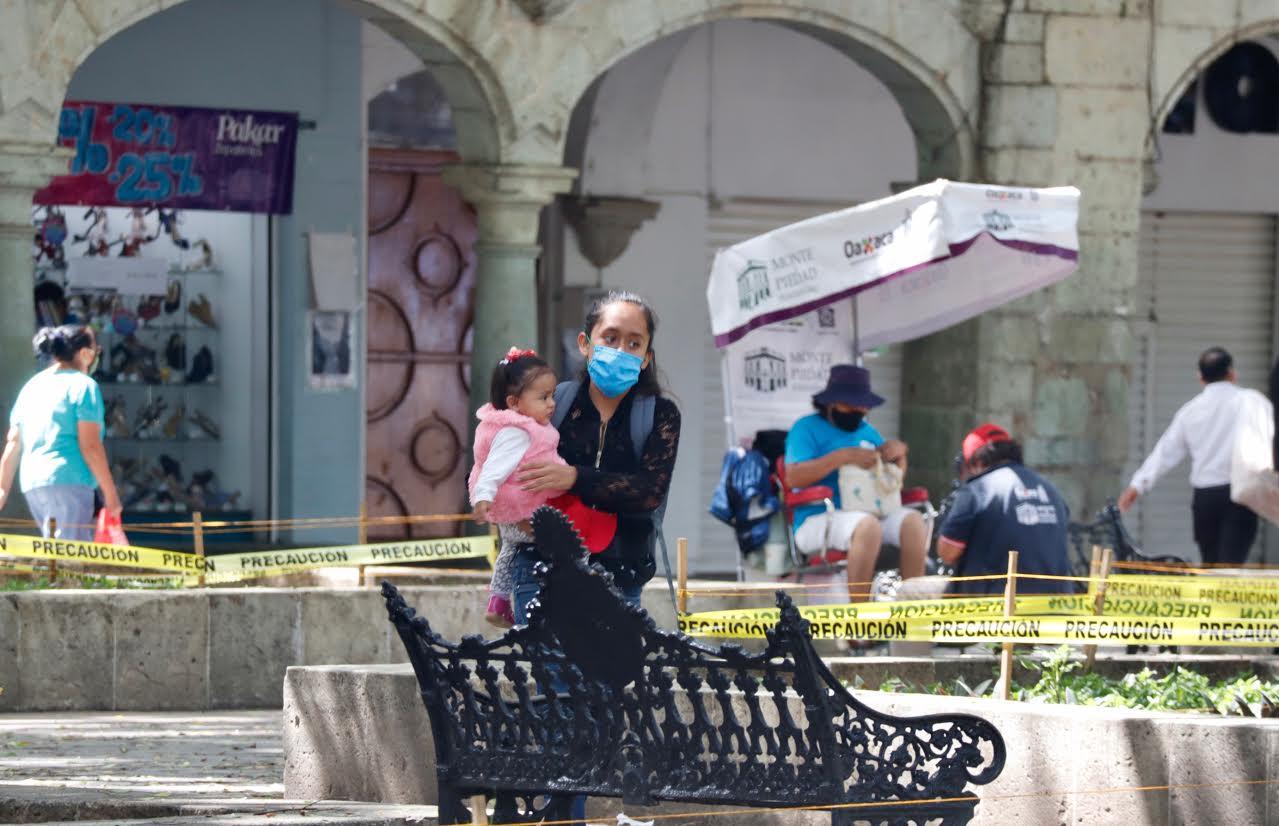 Suman 6 mil 635 contagios y 670 decesos por Covid-19 en Oaxaca