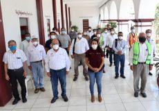 En Pochutla y Tonameca realiza brigada del IEEPO levantamiento de daños por el sismo de 7.4
