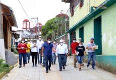 Verifica IEEPO daños en municipios de la Costa por sismo de 7.4
