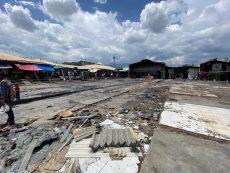 Entregarán apoyo económico a afectados por incendio en el Mercado de Abasto