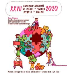 Invita IEEPO al 27vo Concurso Nacional de Dibujo y Pintura Infantil y Juvenil 2020
