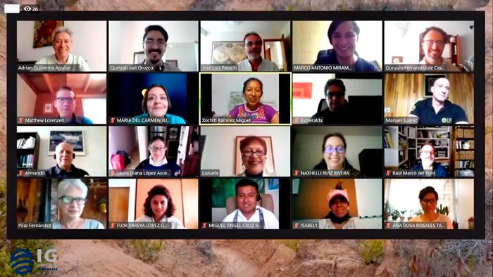 """Científicos de la UNAM participan realizando investigaciones multidisciplinarias en el """"Geoparque Mundial UNESCO Mixteca Alta"""" de Oaxaca."""