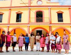 El telar de cintura, unidad de las mujeres de San Juan Colorado