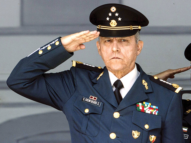 Detienen En Eu Al Exsecretario De La Defensa Salvador Cienfuegos Diario Marca