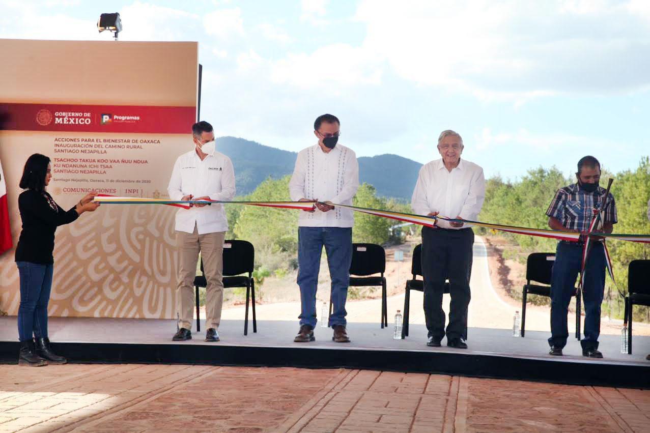 Nuevos caminos abonan al desarrollo de las comunidades de Oaxaca | Diario  Marca