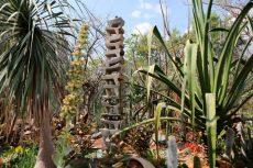"""Convierten basurero en jardín de esculturas """"Vives Verde"""""""
