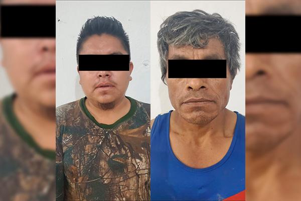 Detienen a dos probables responsables de delitos contra la salud en Juchitán