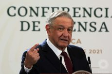 Conferencia de prensa de AMLO en Oaxaca del 14 de febrero del 2021
