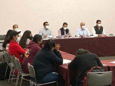 Alcanzan acuerdo Gobierno de Oaxaca y normalistas en favor de la paz y el orden