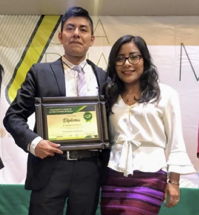 Ramiro González, joven zapoteca becado por Harvard   Diario Marca
