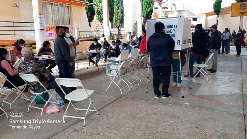 Tras 19 años, distrito de Tlaxiaco vuelve a instalar el 100% de casillas electorales
