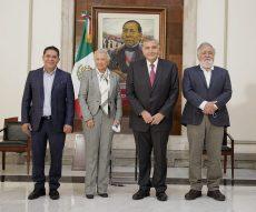 Concluye sucesión en liderazgo de la Secretaría de Gobernación