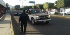 Estatales aseguran siete vehículos por falta de documentos en Huajuapan
