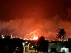 Incendio en refinería de Salina Cruz solo reportó daños materiales