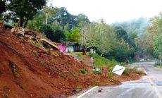 Alertan por derrumbes en carretera de la Mixteca