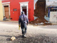 Atiende Protección Civil afectaciones por lluvias en la capital