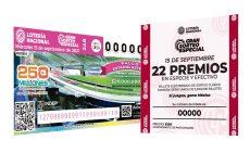 El Gran Sorteo Especial de la Lotería Nacional por el 15 de septiembre ya tiene ganadores