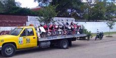 Un operativo de la Policía Vial Estatal, en calles de la colonia centro en Huajuapan, dejó como saldo 64 choferes sancionados y 24 motocicletas aseguradas.